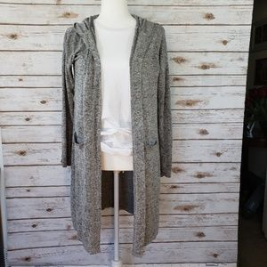 2/$25 GILLIGAN & O'MALLEY Long Gray Duster XS/S
